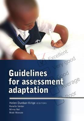 Guidelines for Assessment Adaptation - Elex Academic Bookstore