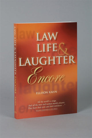 Law Life & Laughter - Encore - Elex Academic Bookstore