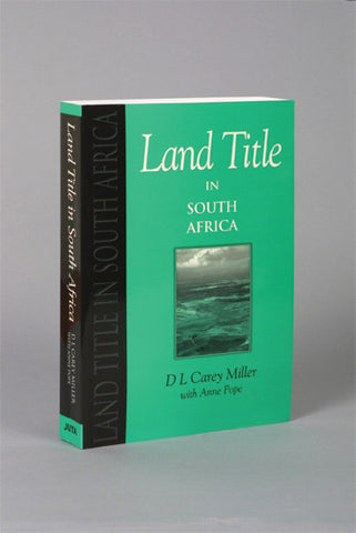 Land Title in South Africa - Elex Academic Bookstore