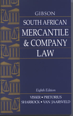 Gibson: SA Mercantile and Company Law 8E - Elex Academic Bookstore