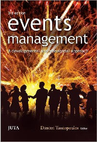 Events Management 3e - Elex Academic Bookstore