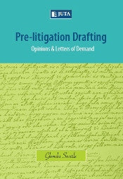 Pre-litigation Drafting - Elex Academic Bookstore