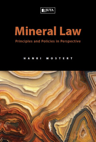 Mineral Law Principles & Policies - Elex Academic Bookstore