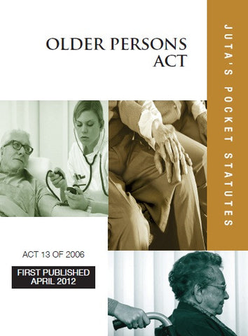 Older Persons Act Pocket Statutes - Elex Academic Bookstore