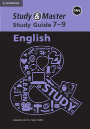 Study and Master Study Guide English Grade 7-9