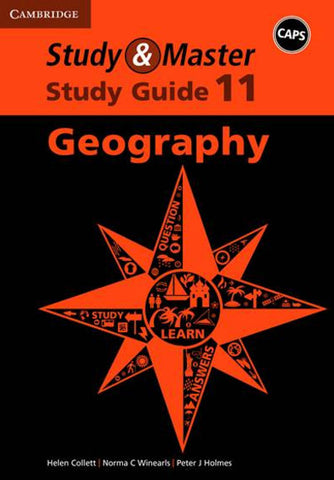 Study and Master Geography Grade 11 CAPS Study Guide - Elex Academic Bookstore