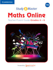 Study and Master Maths Online Teacher's Guide