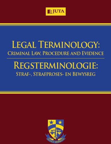 Legal Terminology: Criminal Law, Procedure and Evidence - Elex Academic Bookstore