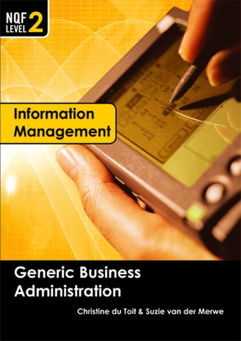 GBA NQF2 – Information Management