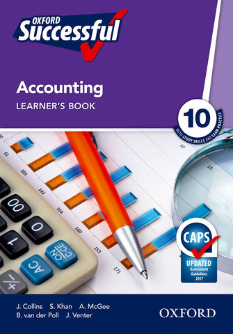Oxford Successful Accounting Grade 10 Learner's Book