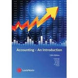 Accounting - An Introduction (13th ed)