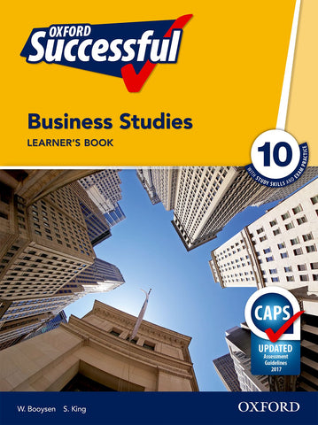 Oxford Successful Business Studies Grade 10 Learner's Book