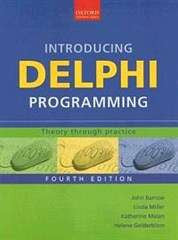 Introducing Delphi Programming 4th Edition - Elex Academic Bookstore