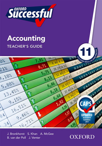 Oxford Successful Accounting Grade 11 Teacher's Guide