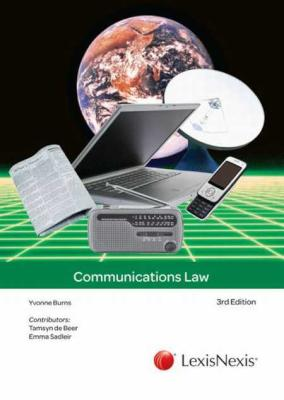 Communications law 3rd Edition - Elex Academic Bookstore