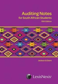 Auditing Notes for South African Students 10th Ed.