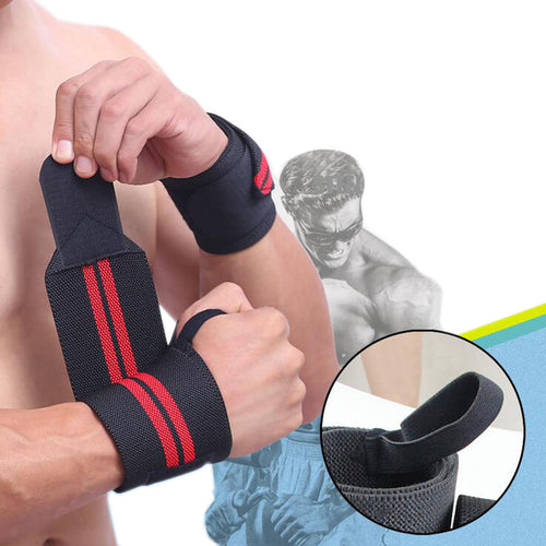 2 pcs/lot Weight Lifting training sport wrist bandage professional bodybuilding gloves protect palm weightlifting dumbbell