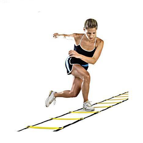 4meter Agility Ladder for Soccer Speed Training Football Fitness