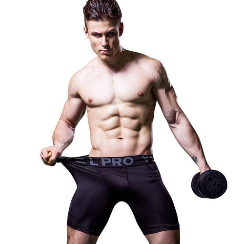 Hot Sale Gym Leggings Men Compression Crossfit Shorts