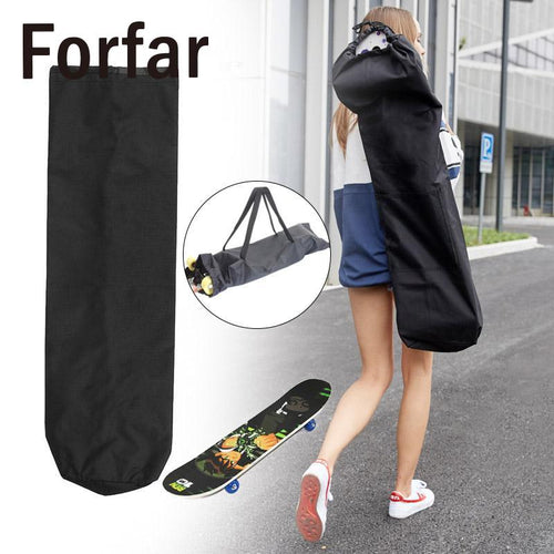 Skateboard Longboard Nylon Sporting Waterproof Carrying Bag Backpack