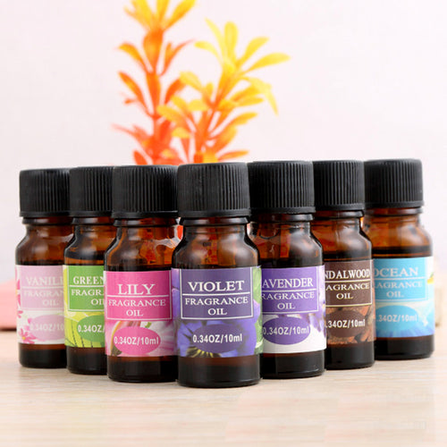12 Flavors/Set Plant Fragrance Oil Used For Humidifier Water-soluble Fragrance Oil Fresh Air Reduced Pressure