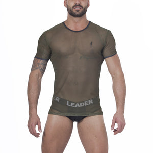 Torch Mesh T Shirt Army Green