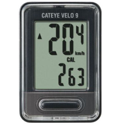 Ciclocomputador CatEye Velo 9 - CiclosCenter