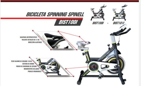 Bicicleta Spinning  Spinell - ProFit - CiclosCenter