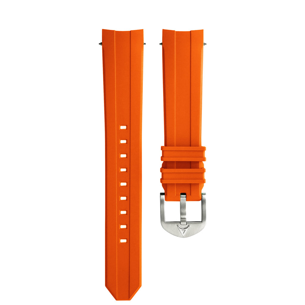 Orange Rubber Strap AC
