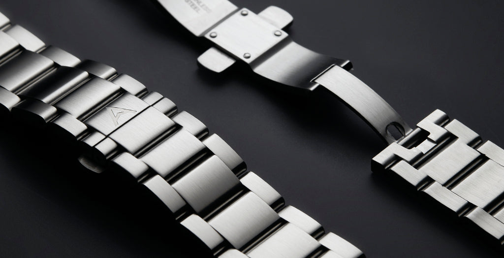 Steel Bracelet (Fits Mechanical Chronograph)
