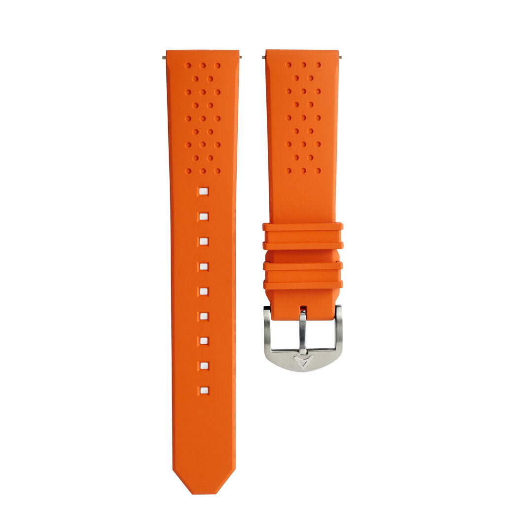Orange Rubber Strap
