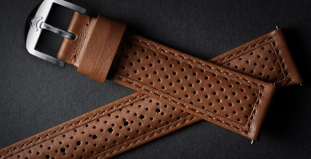 Tan Perforated Strap