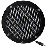 "PolyPlanar 5"" VHF Extension Speaker - Flush Mount - (Single) Black"