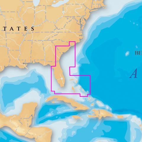 Navionics Platinum+ 906P+ - Southeast and Bahamas - MicroSD™ Card