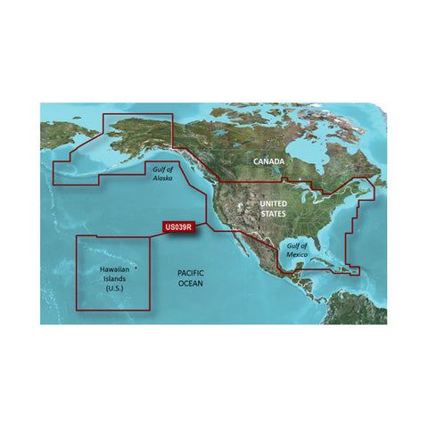 Garmin BlueChart® g2 HD - HXUS604x - US All & Canadian West - microSD™/SD™
