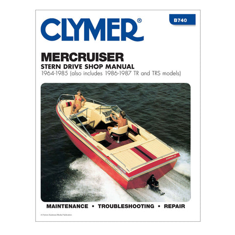 Clymer MerCruiser Stern Drives 1964-1985 w/TR & TRS, (1986-1987)