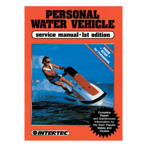 Clymer ProSeries Personal Water Vehicle Service Manual