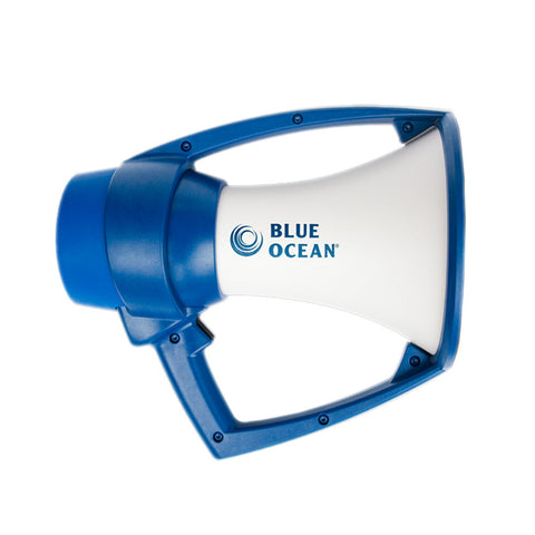 Kestrel Blue Ocean Megaphone - White/Blue