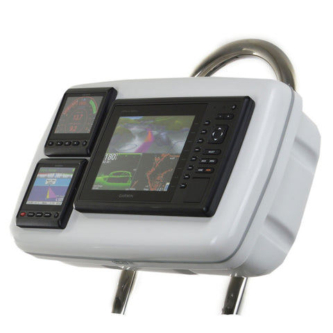 "NavPod GP1088 SystemPod Pre-Cut f/Garmin 820/820xs/840xs & 2 Instruments f/9.5"" Wide Guard"