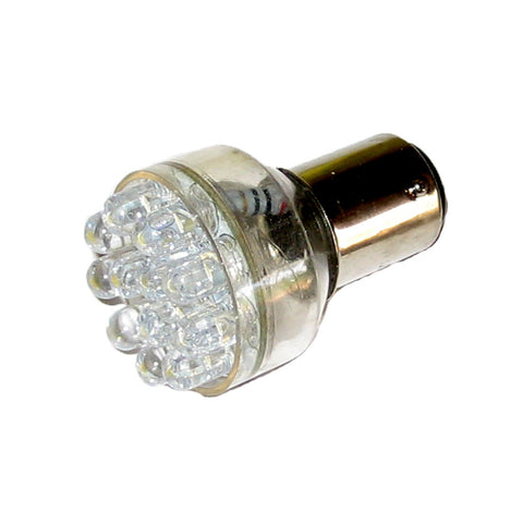 Ancor LED Double Contact Bayonet Bulb - White - 12V