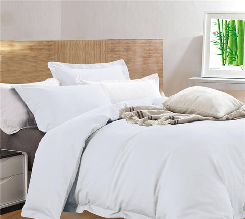 Luxury 400TC Bamboo Cotton Quilt Cover Set