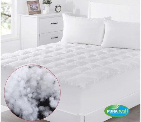 Dreammaker Fibre Ball Mattress Topper/Underlay Luxury 700GSM - yournextquilt.com