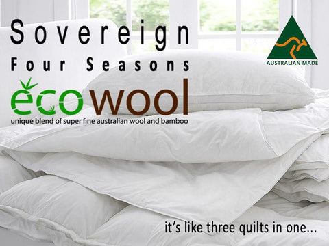 Four Season Bamboo and Wool Quilt-Limited Edition - yournextquilt.com