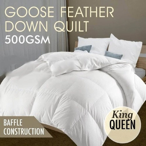 Goose and Feather Down Quilt - yournextquilt.com