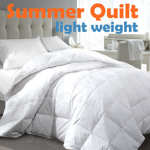 Light Weight Summer Quilt Machine Washable 200GSM - yournextquilt.com