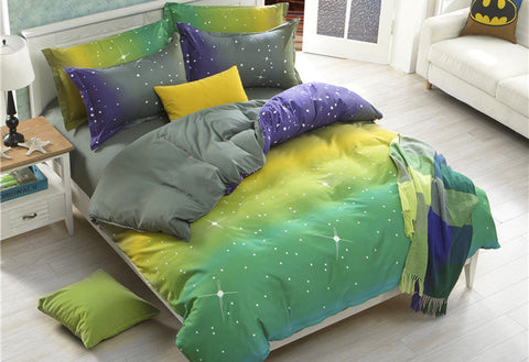 Stars Quilt Cover Set in Queen & King Size - yournextquilt.com