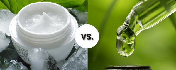 Why Oils and Not Creams For Healthy Organic Skincare?