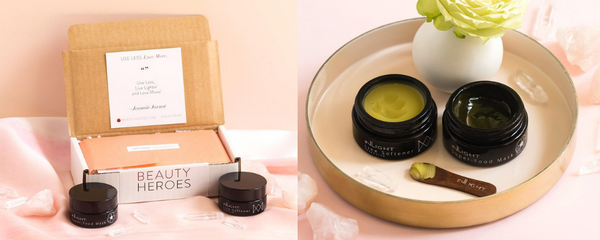 Inlight 100% Organic Skincare Line Partners With Beauty Heroes!