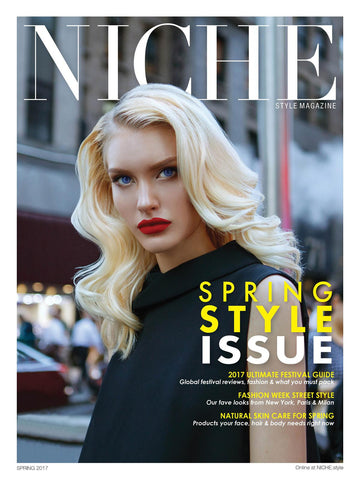 Inlight's Under Eye Revive fetured in NICHE Spring Style Issue