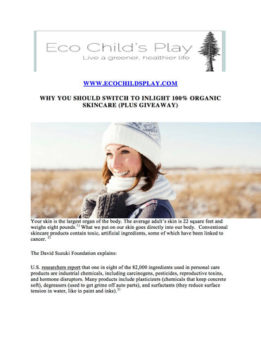 Hug Your Skin on ecochildsplay.com